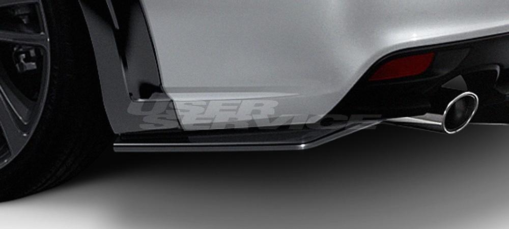 DAMD ダムド リアバンパーサイドエクステンション レヴォーグ VMG VM4 スタイリングエフェクト ABS