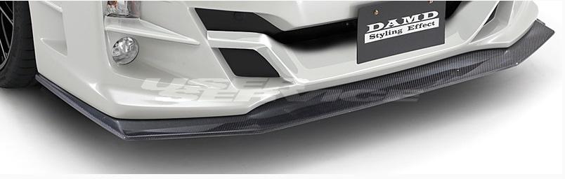 DAMD ダムド WRX S4 WRX STI VAG VAB 専用フロントアンダースポイラー カーボン