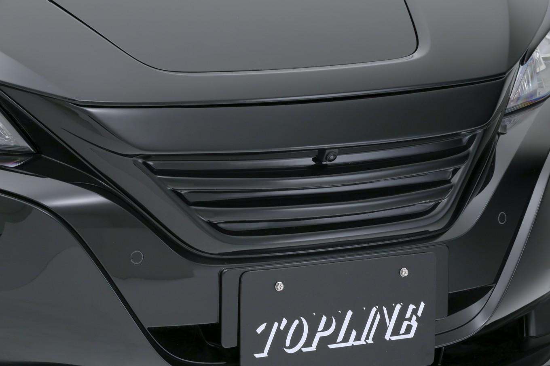 TOP LINE トップライン リーフ ZE1 全グレード フロントグリル 塗装済み ARNAGE アルナージ