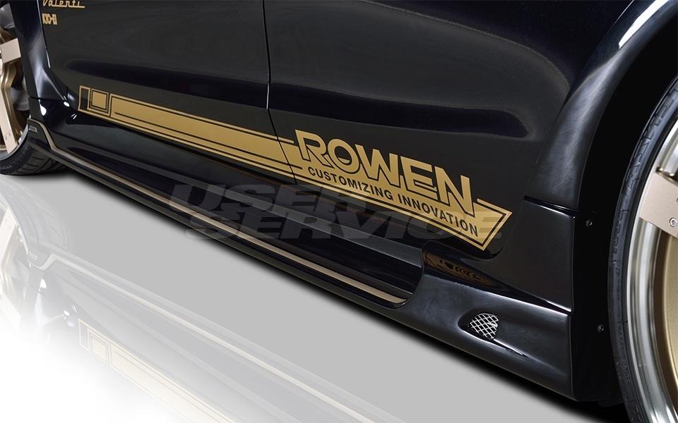 ROWEN ロウェン レヴォーグ VM4 VMG 前期 サイドステップ 塗り分け塗装済 プレミアムエディション PREMIUM edition トミーカイラ 1S005J00##