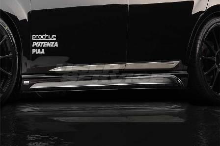 ROWEN ロウェン レガシィ BMG/BM9/BMM D E型 サイドステップ+サイドカーボンアンダーフラップ クリア塗装済 プレミアムエディション PREMIUM Edition1S001J20 トミーカイラ