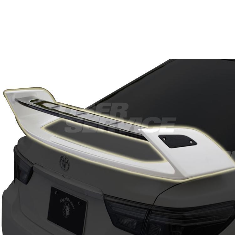 ROWEN ロウェン マークX GRスポーツ GRX130 133 リヤウイング 未塗装 プレミアムエディション PREMIUM Edtion トミーカイラ 1T010W00