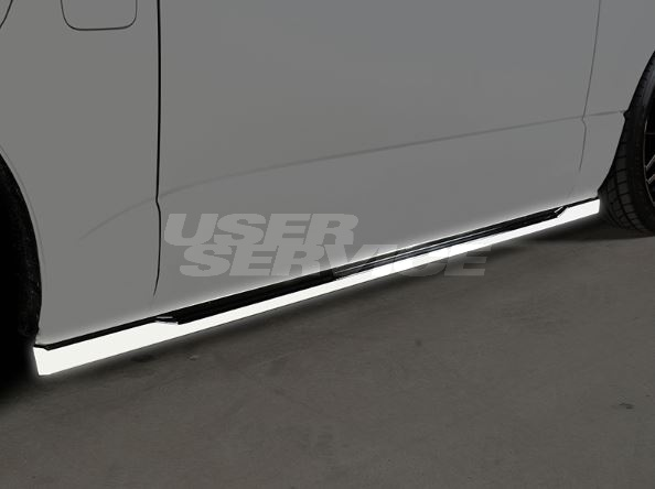 ROWEN ロウェン ハイエース 200系 KDH20# TRH20# 4型前期 サイドステップ 未塗装 プレミアムエディション PREMIUM Edtion トミーカイラ 1T019J00