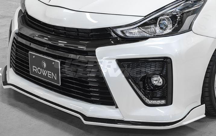 ROWEN ロウェン プリウスα ZVW40 ZVW41 G's RR フロントスポイラー 塗装済 エコスポエディション ECO-SPO Edition トミーカイラ 1T020A10#