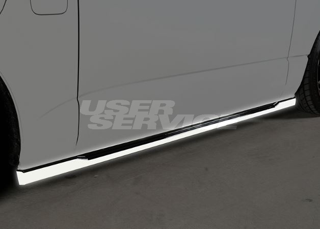 ROWEN ロウェン ハイエース 200系 KDH20# TRH20# 4型 サイドステップ 未塗装 クロスブレイズ CROSS BLAZE トミーカイラ 1T019J00