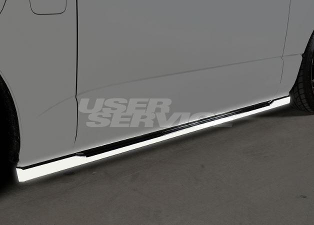 ROWEN ロウェン ハイエース 200系 KDH20# TRH20# 4型 サイドステップ 塗り分け塗装済 クロスブレイズ CROSS BLAZE トミーカイラ 1T019J00##