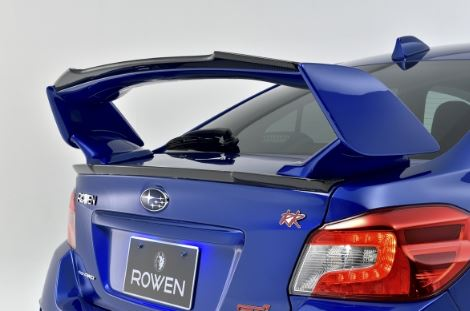 ROWEN ロウェン WRX STI S4 VAB VAG 前期 トランクスポイラー 未塗装 プレミアムエディション PREMIUM Edtion トミーカイラ 1S006T00