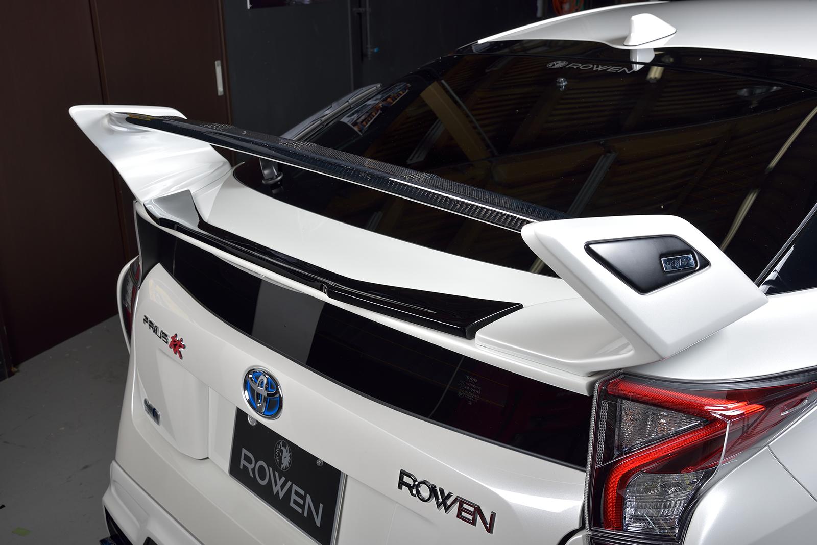 ロウェン プリウス 50系 ZVW5# 前期/後期 トランクスポイラー リヤウィング専用 1T022T00# ROWEN