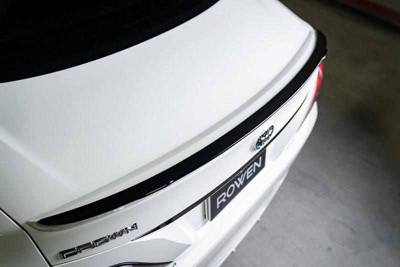 ロウェン クラウン RS 220系 AZSH20 ARS220 GWS224 トランクスポイラー FRP 未塗装 1T036P00 ROWEN