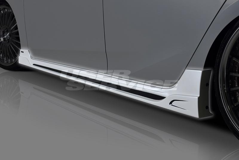 ROWEN ロウェン プリウス 50系 ZVW5# 前期/後期 サイドステップ RR 塗り分け塗装済 エコスポエディション ECO-SPO Edition トミーカイラ 1T022J00##