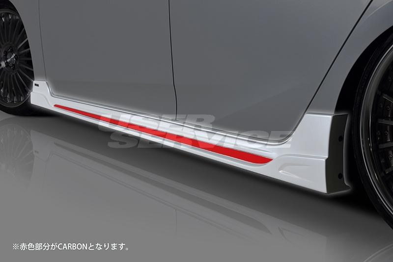 ROWEN ロウェン プリウス 50系 ZVW5# 前期/後期 サイドステップ RR 単色塗装済 エコスポエディション ECO-SPO Edition トミーカイラ 1T022J10#