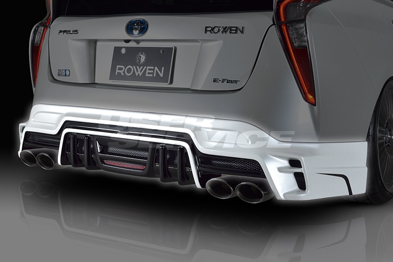ROWEN ロウェン プリウス 50系 リヤアンダースポイラー RR 単色塗装済 エコスポエディション ECO-SPO Edition トミーカイラ 1T022P00#