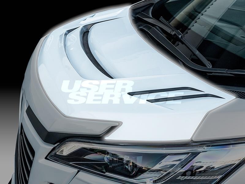 ROWEN ロウェン ヴェルファイア 30系 AGH3#W GGH3#W AYH30W 前期 Zグレード レーシングボンネット 未塗装 ジャパンプレミアム JAPAN PREMIUM トミーカイラ 1T018G00