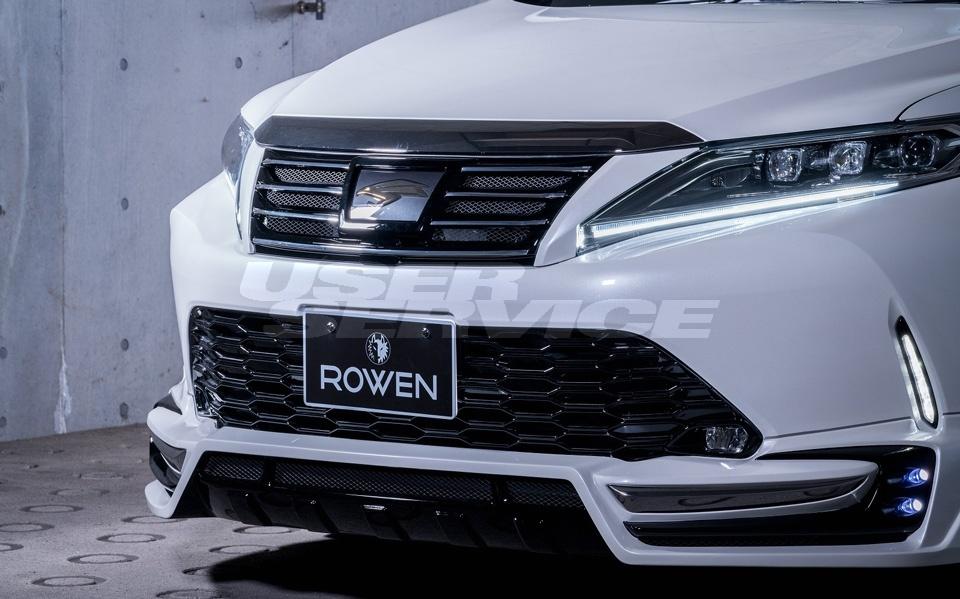 ROWEN ロウェン ハリアー 60系 AVU65 ZSU60W ZSU65W ASU60W ASU65W 後期 フロントグリル 塗り分け塗装済 SVプレミアムエディション SV PREMIUM Edition トミーカイラ 1T029C00##