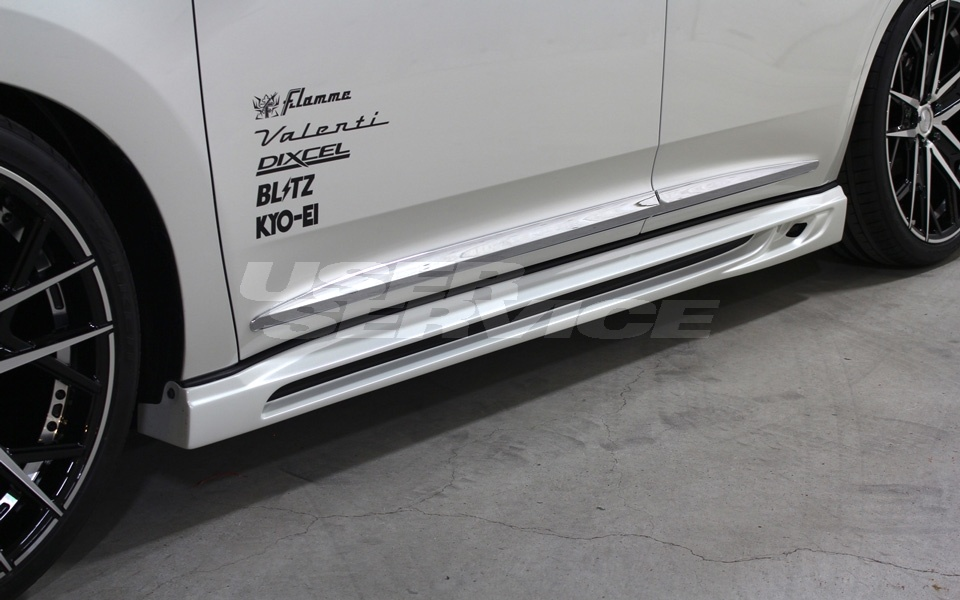 ROWEN ロウェン ハリアー 60系 AVU65 ZSU60W ZSU65W ASU60W ASU65W 後期 サイドステップ 塗装済 SVプレミアムエディション SV PREMIUM Edition トミーカイラ 1T017J00#