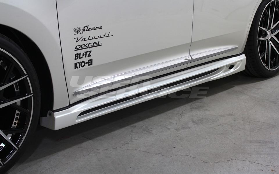 ROWEN ロウェン ハリアー 60系 AVU65 ZSU60W ZSU65W ASU60W ASU65W 後期 サイドステップ 塗り分け塗装済 SVプレミアムエディション SV PREMIUM Edition トミーカイラ 1T017J00##