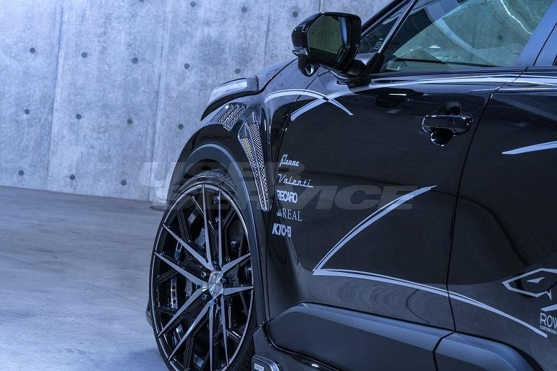 ROWEN ロウェン C-HR RR NGX50 ZYX10 RRフロントフェンダー 塗り分け塗装済 SVプレミアムエディション SV PREMIUM Edition トミーカイラ 1T026F00##