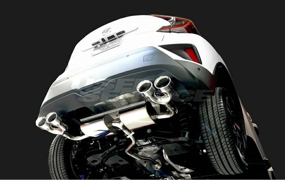 ROWEN ロウェン C-HR RR NGX50 ZYX10 PREMIUM01S ハイブリッド チタンテール 純正バンパー専用 SVプレミアムエディション SV PREMIUM Edition トミーカイラ 1T026Z21