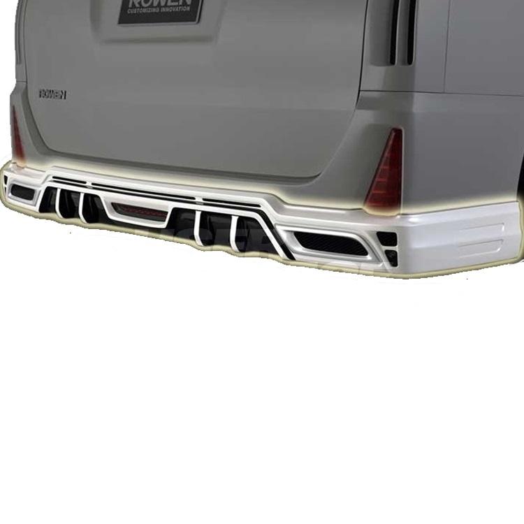ROWEN ロウェン ヴォクシー ZRR80 ZRR85 後期 ZSグレード リヤハーフスポイラー 未塗装 プレミアムエディション PREMIUM Edtion トミーカイラ 1T013P00