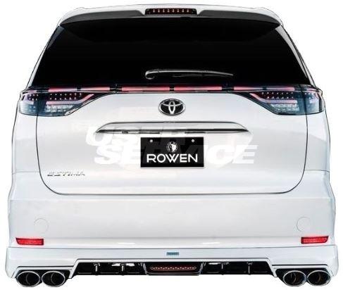 ROWEN ロウェン エスティマ アエラス ACR5# リヤハーフスポイラー 未塗装 プレミアムエディション PREMIUM Edtion トミーカイラ 1T024P00