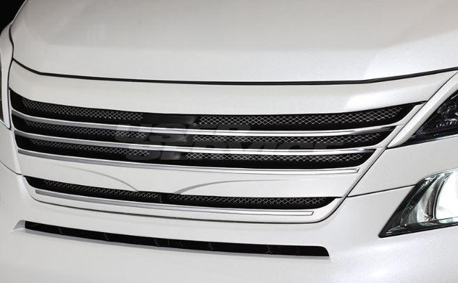 ROWEN ロウェン ヴェルファイア 20系 ANH2#W GGH2#W 前期 フロントグリル 未塗装 プレミアムエディション PREMIUM Edtion トミーカイラ 1T002C01