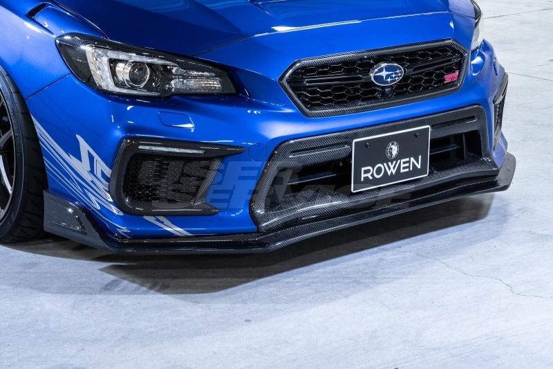 ロウェン WRX STI DBA-VAB 後期 ロアグリルエクステンション 1S010E20# ROWEN