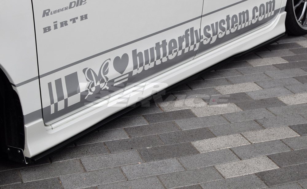 バタフライシステム タント カスタム トップエディション 前期 後期 共通 LA600S LA610S サイドフラップ 付加タイプ Butterfly System GLANZ グランツ
