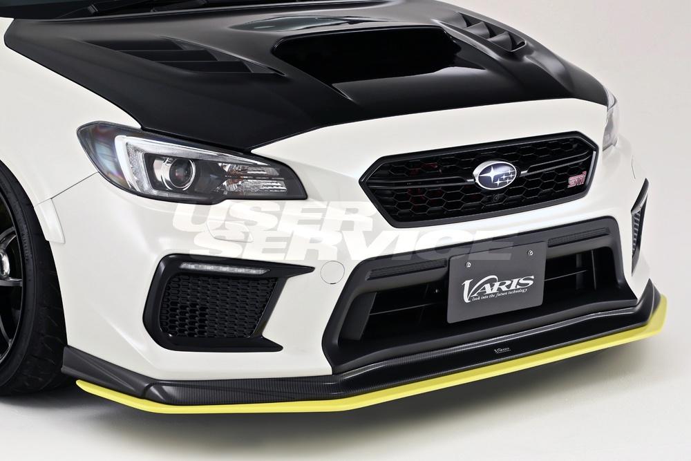 VARIS バリス WRX VAB/VAG S4 STI エクステンションリップ アプライドモデルD FRP VASU211