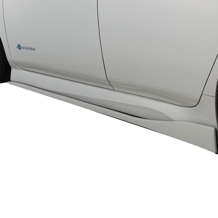 ブリッツ リーフ ZE1 トレンド サイドスカート 未塗装 60272 BLITZ AERO W エアロパーツ 配送先条件有り 訳あり商品 エアロスピード SPEED Rコンセプト