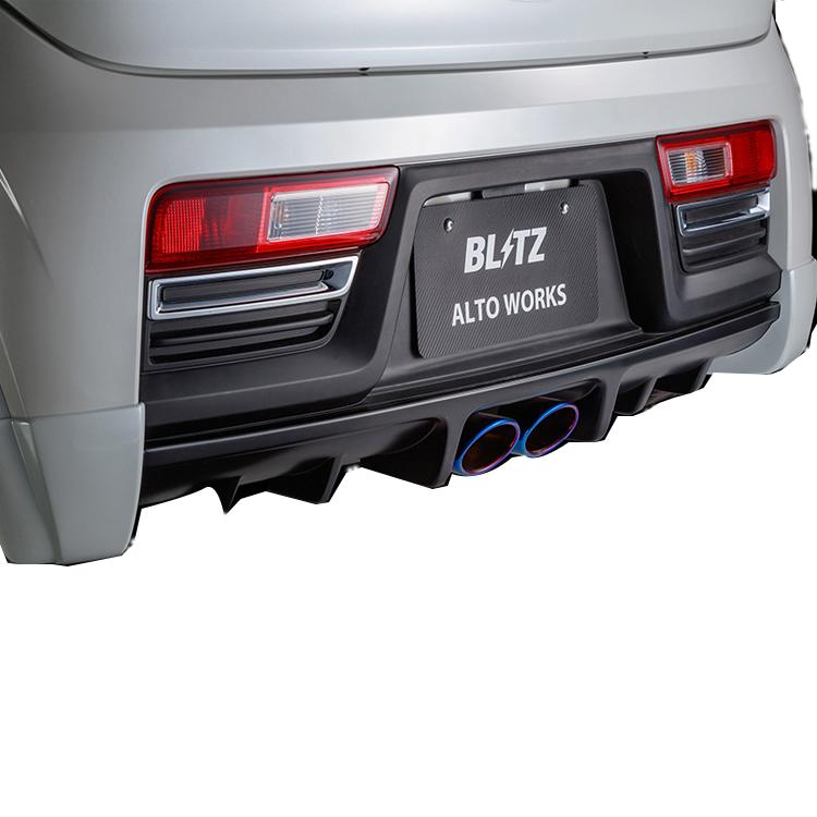 ブリッツ アルトワークス HA36S リアディフューザー 未塗装 60243 BLITZ AERO SPEED エアロスピード Rコンセプト W