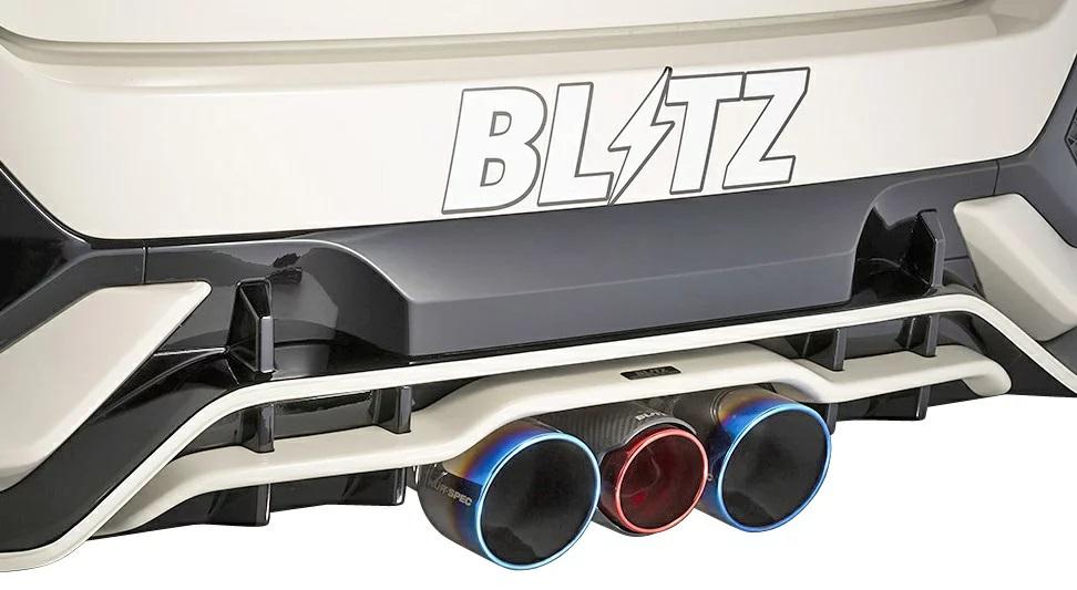 ブリッツ シビック FK8 タイプR リアガーニッシュ カーボン製 60363 BLITZ AERO SPEED エアロスピード Rコンセプト W