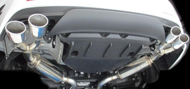 ブリッツ レクサス RC200t ASC10 DBA-ASC10 マフラー VS Quad 63527 BLITZ NUR-SPEC VS Quad ニュルスペック