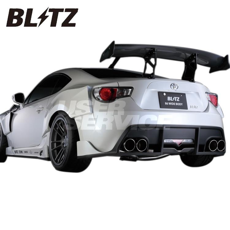 ブリッツ トヨタ 86 ZN6 DBA-ZN6 マフラー VS Quad エアロ付 60171 BLITZ NUR-SPEC VS Quad ニュルスペック