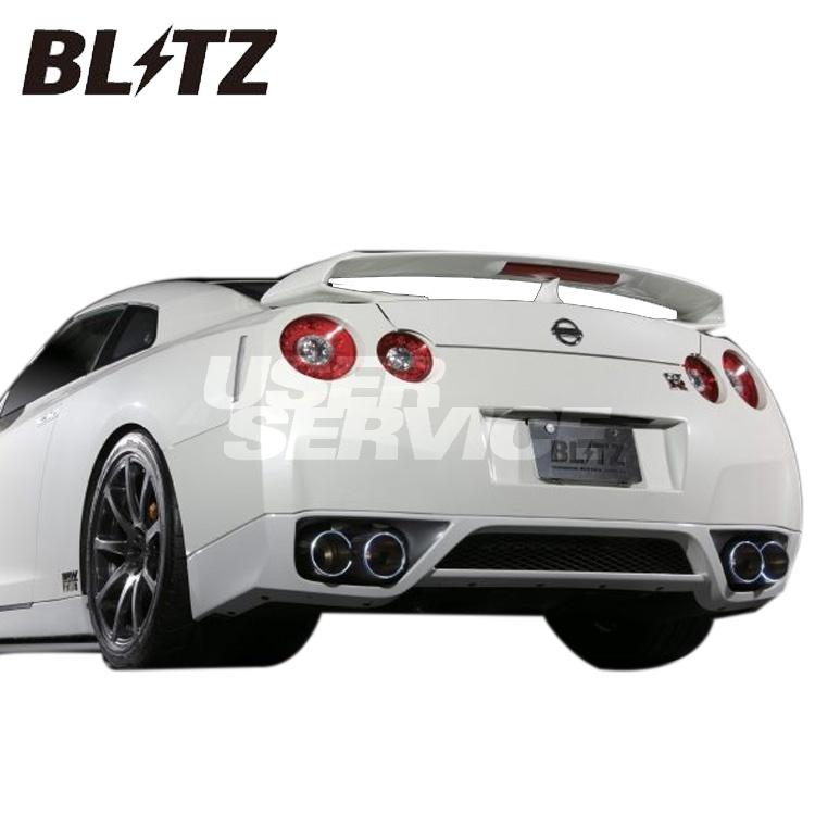 ブリッツ 日産 GT-R R35 DBA-R35 マフラー C-Ti Quad チタン 64073 BLITZ NUR-SPEC ニュルスペック