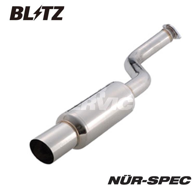 ブリッツ 日産 ティーダ JC11 CBA-JC11 マフラー S ステンレス MN2100 BLITZ NUR-SPEC S ニュルスペック