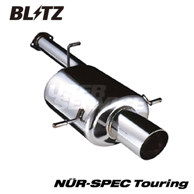 ブリッツ スバル フォレスター SG9 TA-SG9 マフラー Touring ステンレス 68020 BLITZ NUR-SPEC Touring ニュルスペック