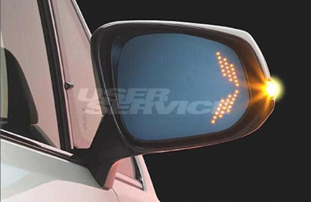 ファブレス アルファード ヴェルファイア 30系 LED ウイングミラー トヨタ専用 FABULOUS