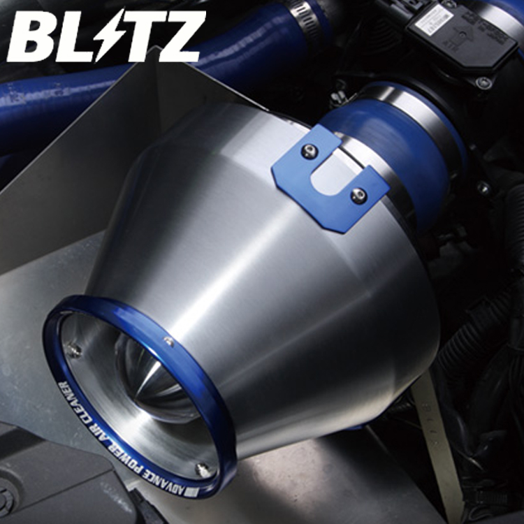 ブリッツ カローラフィールダー NZE121G NZE124G 00/08~06/10 アドバンスパワー エアクリーナー 42065 BLITZ