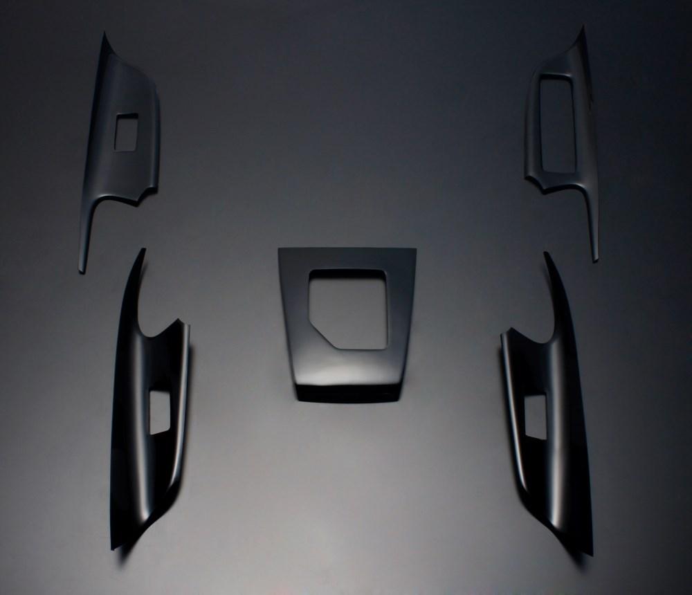 ハリアー 60系 FEGGARI フェガーリ ピアノブラック ハイグレード インテリアパネル 5ピース HA60PB