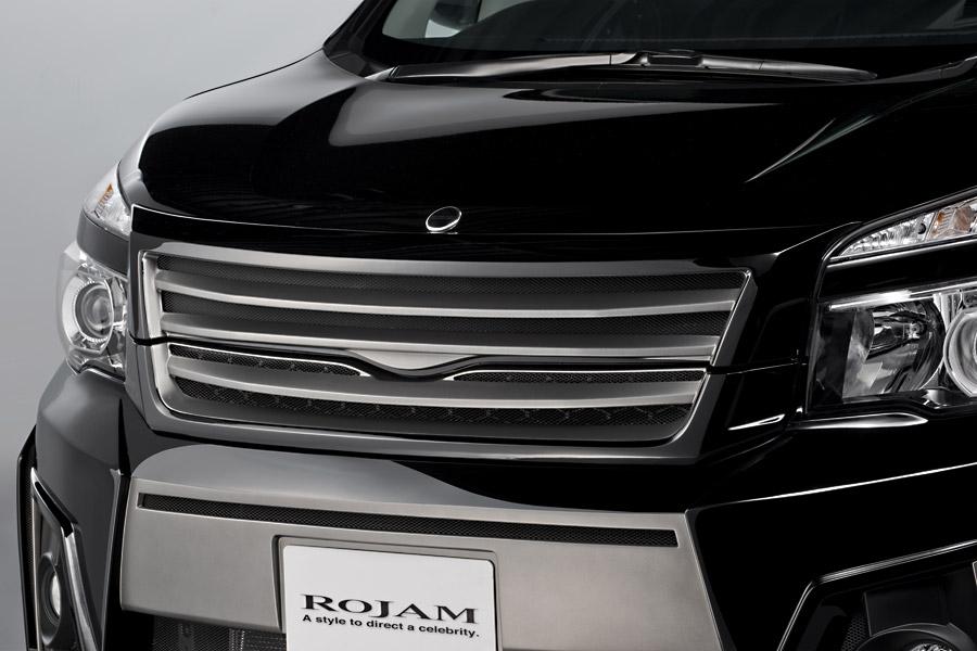 ROJAM ロジャム ヴォクシー 70系 ZRR70W 後期 Z/ZS/ZS煌(きらめき) フロントグリル 未塗装 アイアールティー ジェニック IRT GENIK 21-fg-vo702
