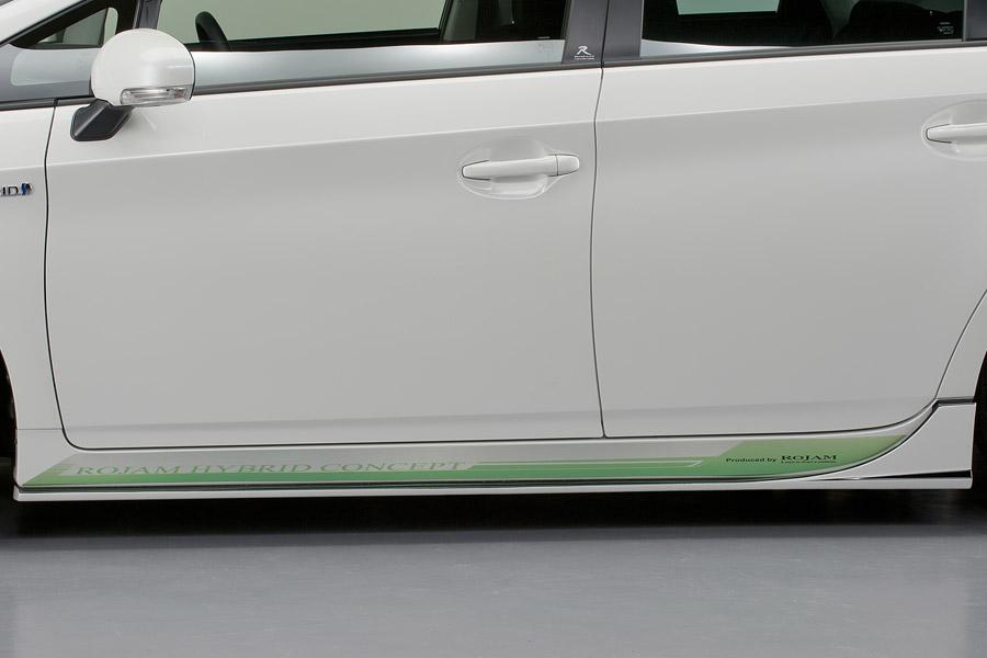 ROJAM ロジャム プリウス 30系 ZVW30 G's ヴェルデ サイドデカール ヴェルデ VERDE 23-sd-pr30