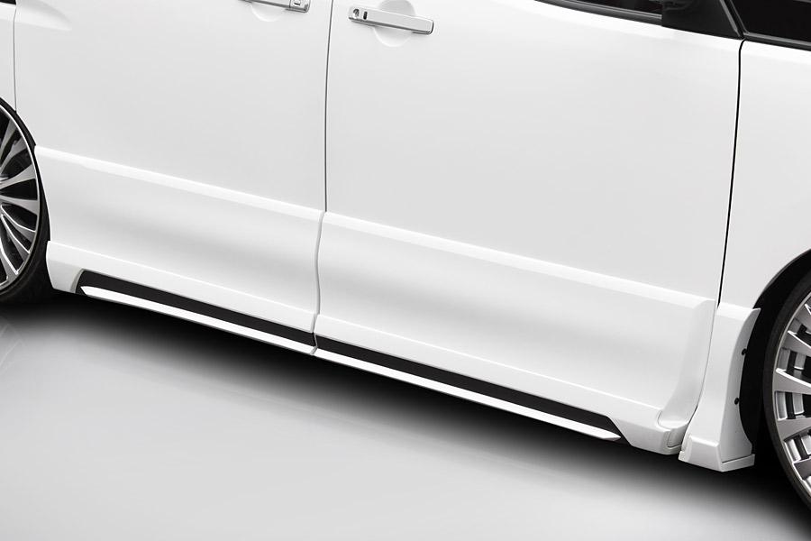 ROJAM ロジャム セレナ C26 前期 ハイウェイスター ライダー サイドステップモール 未塗装 アイアールティー IRT 21-ss-sec26