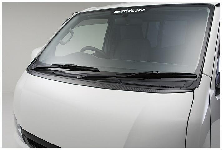 ボクシースタイル ハイエース 200系 4型 標準(ナロー) ボンネットエクステ boxystyle