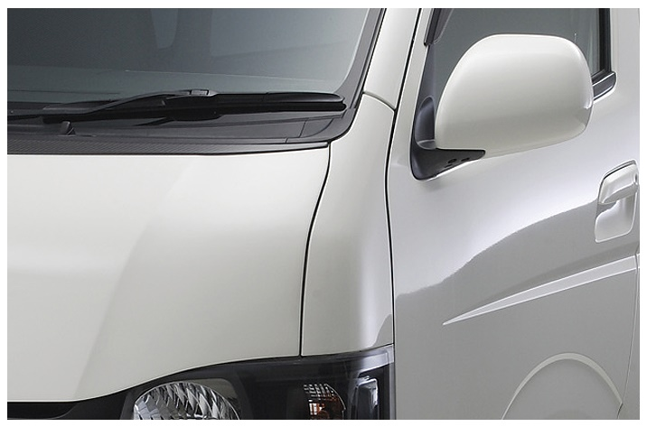 ボクシースタイル ハイエース 200系 4型 標準(ナロー) コーナーパネル 交換タイプ boxystyle