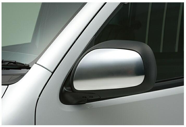 ボクシースタイル ハイエース 200系 4型 標準(ナロー) ドアミラーガーニッシュ ハーフカバータイプ boxystyle