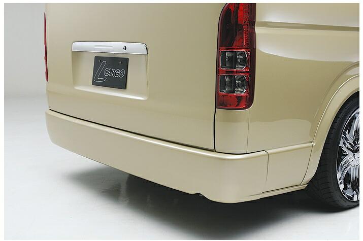 ボクシースタイル ハイエース 200系 1型 2型 3型 ワイド ワゴン用 プレミアムリアバンパー boxystyle