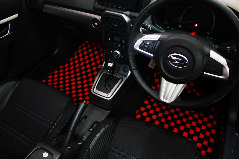 テイクオフ ハイゼットカーゴ S321V/S331V フロアマット チェッカータイプ/スタンダードタイプ TAKE OFF 配送先条件有り