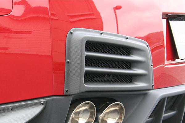 チャージスピード GT-R R35 リアバンパーダクト ALL FRP製 迅速な対応で商品をお届け致します ボトムラインエアロパーツ CHARGE ボトムライン BottomLine SPEED 《週末限定タイムセール》
