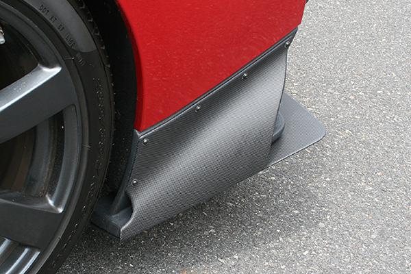 チャージスピード GT-R R35 リアアンダーサイドカウル ALL FRP製 CHARGE SPEED BottomLine ボトムライン