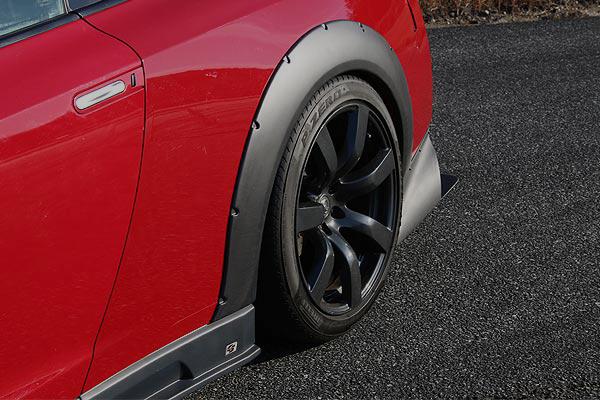 チャージスピード GT-R R35 リアオーバーフェンダー 片側20mmワイド ALL FRP製 CHARGE SPEED BottomLine ボトムライン